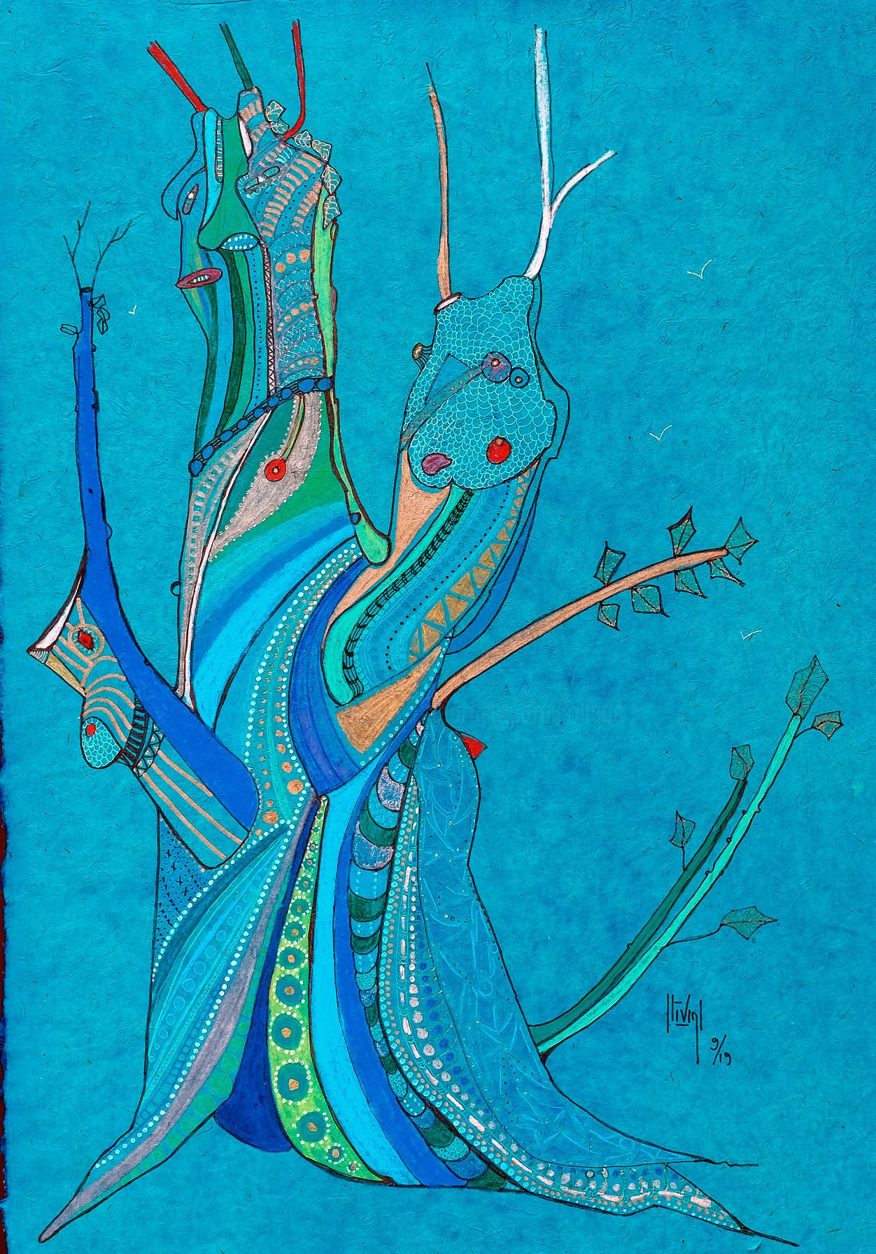Hélène Stevens - arbre escargot
