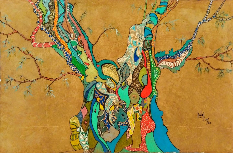 Hélène Stevens - L'arbre de la Paix et ses olives